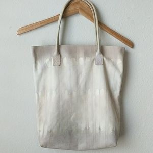 Creatures of Comfort Tie Dye Leather Tote